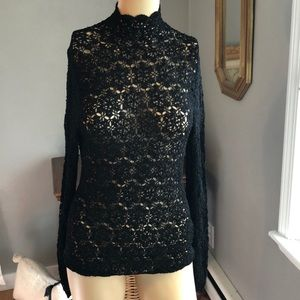 Ralph Lauren Crochet Sweater Size M